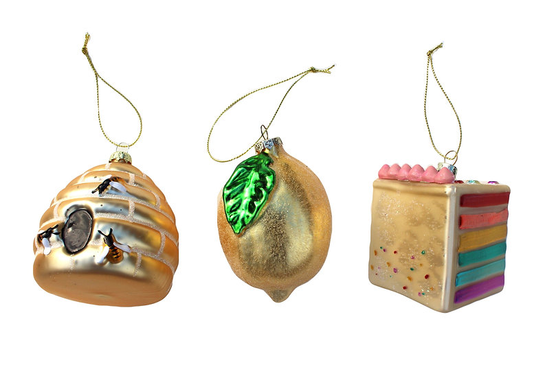 Set of 3 Jazzy Baubles