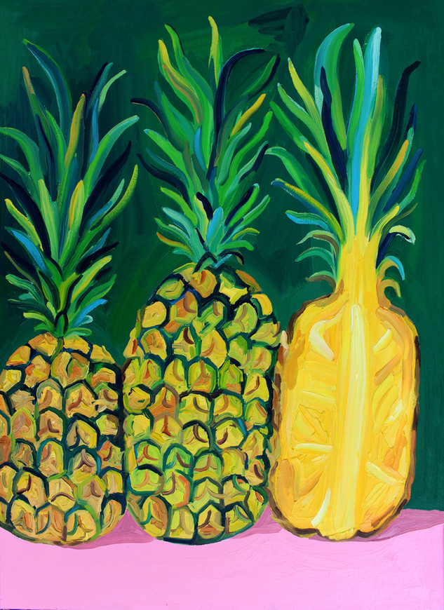 Prickly Pineapples (sold)