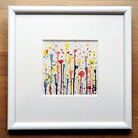 1. Bild Abstrakt Wasserfarbe