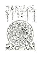 Kalenderblatt Jänner