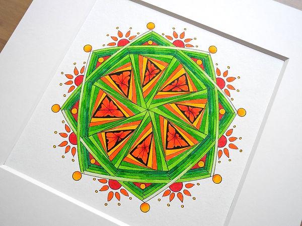 Frühlings Mandala