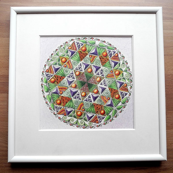Mandala Dreiecke