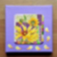 Bierdeckelbild Sonnenblume