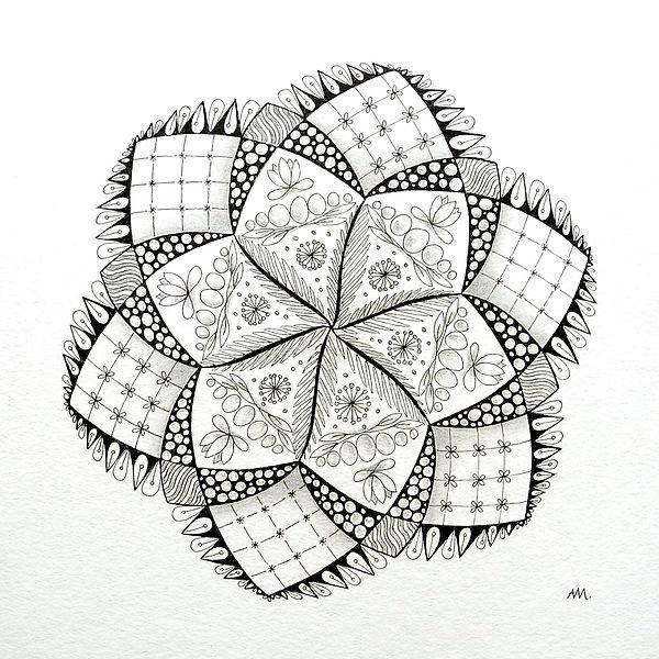 Mandala Seerose