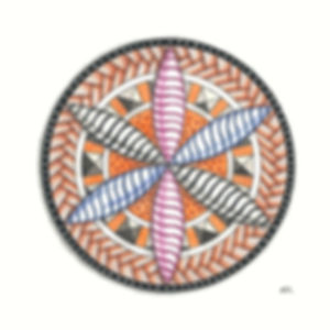 Mandala mit 3D Effekt