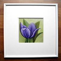 Pastellzeichnung Tulpe