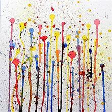 Wasserfarbe Abstrakt 1