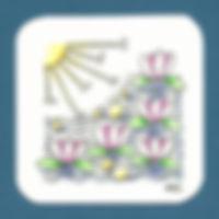 Muster: Seerose