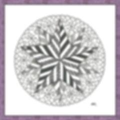 Kleines Stern Mandala