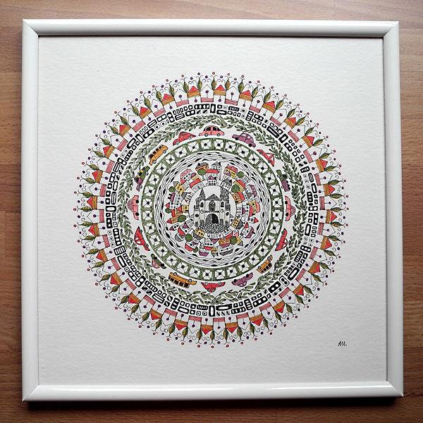 """Mandala """"Mein Wien"""""""