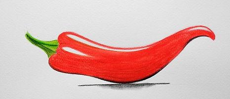 Chili Tintenstifte