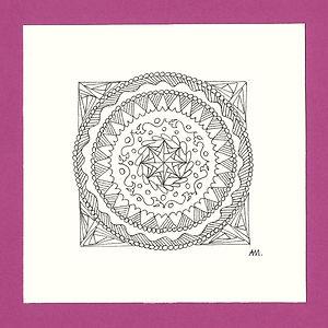 Kreis Mandala klein