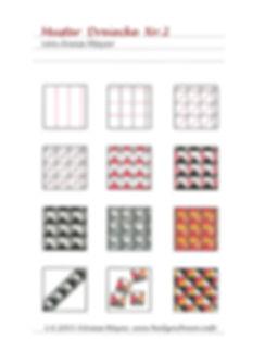 Muster Dreiecke Nr.2