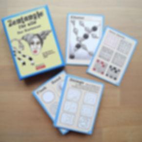 Zentangle für alle Kartenset
