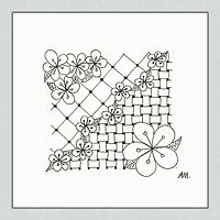 Muster Kirschblüte