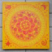 Mandala mit Tortenspitze