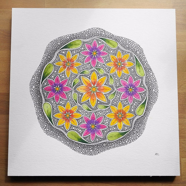 Blumen Mandala