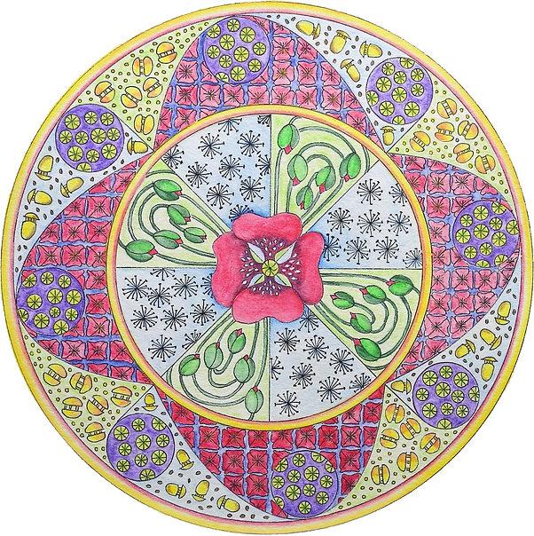 Mandala Mohn