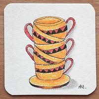 Muster Tassen