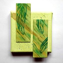 BierdeckelPanPastel auf Keilrahmen Acrylfarbe