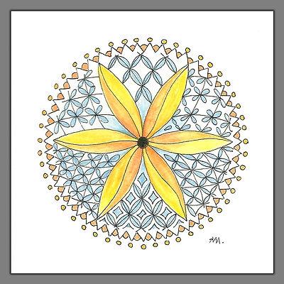 Geometrisches Mandala klein