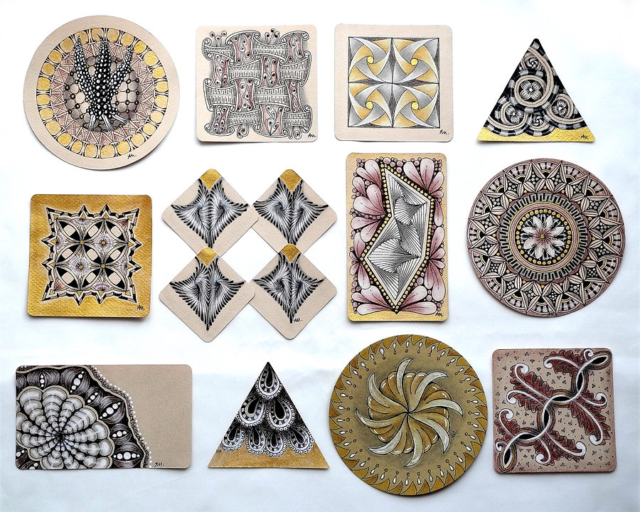 Zentangle Project Pack 12