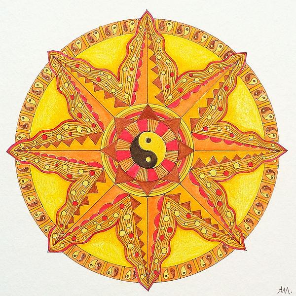 Mandala Sonne