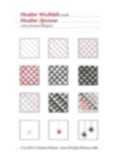 Muster: Wichtel und Spinne