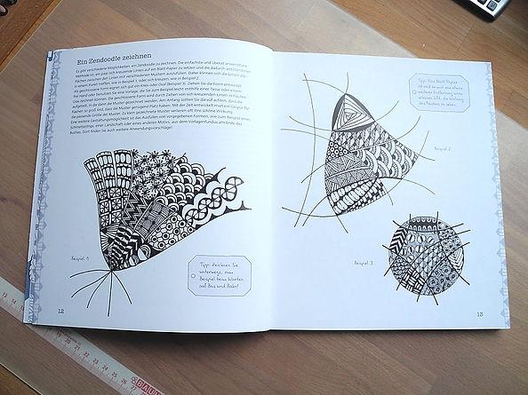 Zendoodle - Meditadives Zeichnen