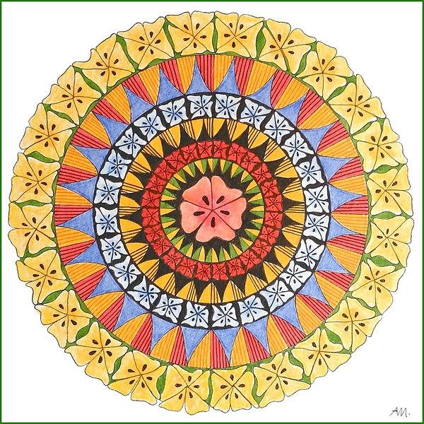 Kreis Mandala groß