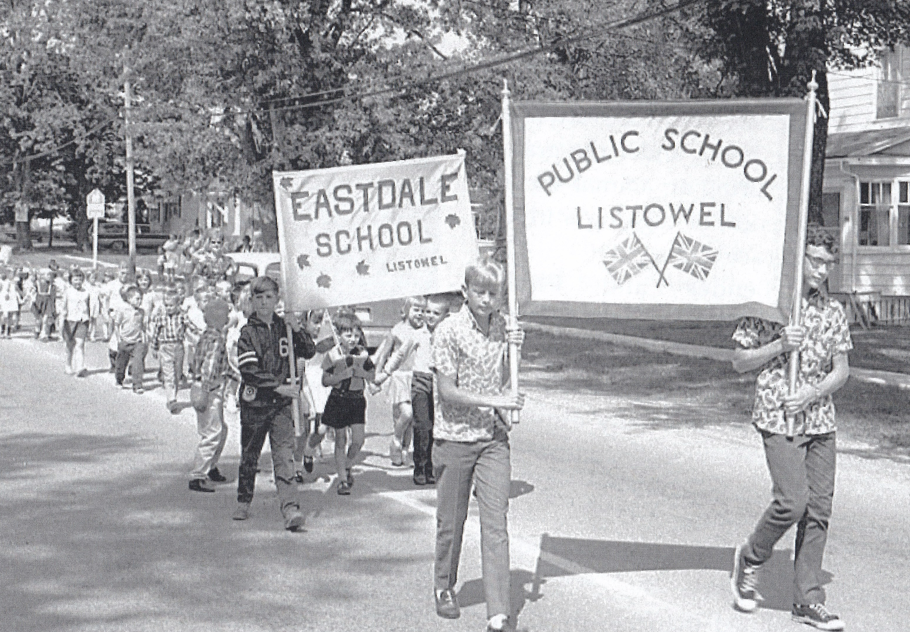 Listowel Fair History Book 1968 school p