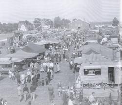 Listowel Fair - History Book - midway