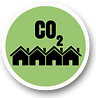 Carbon reduction with disadvantaged communities and households