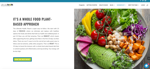 Food Plant Website
