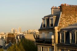 Terrasse d'été à Montmartre