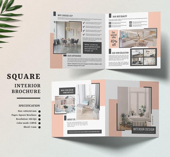 Brochure Interior Design