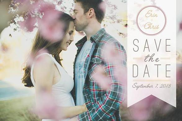 Save-the-date invite