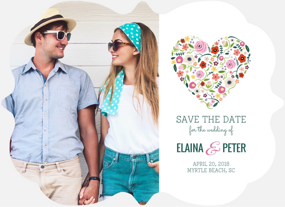 Summer Wedding Save The Date