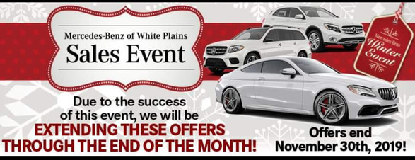 Sales Event at MBenz of White Plains