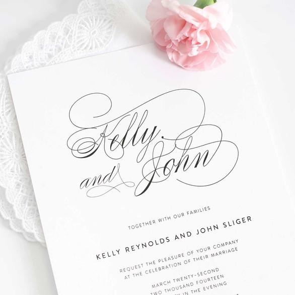 Beautiful Wedding Invite