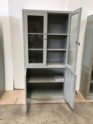 FC-H2 Cabinet Glass Swing door & Solid swing Door