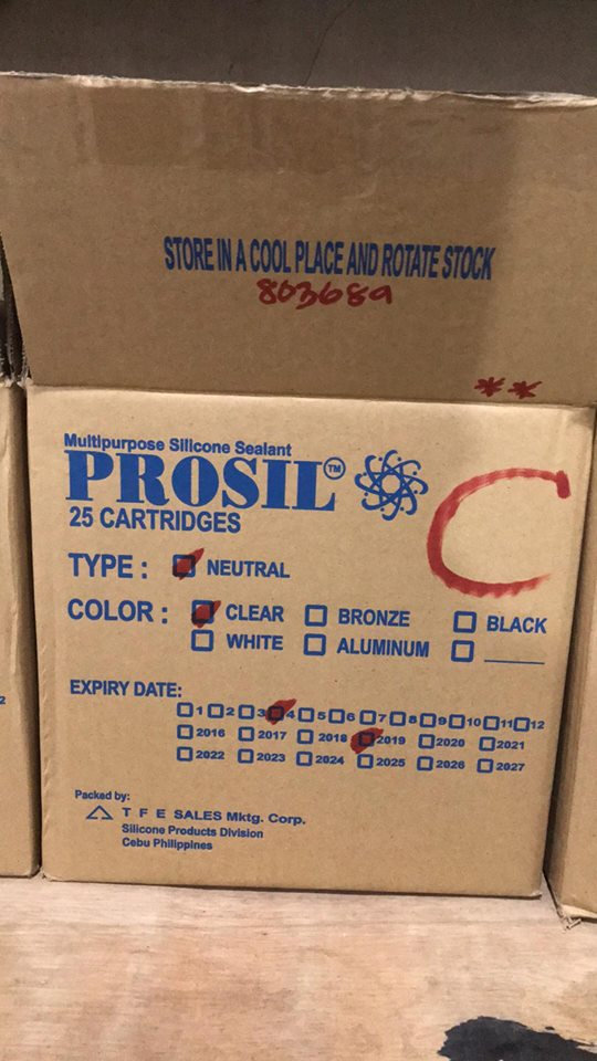 Prosil Silicone Sealant Clear Home