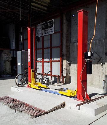 Stationary car lifter