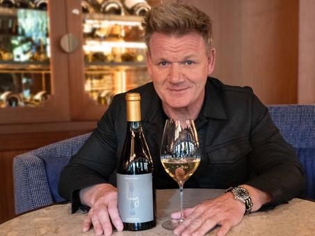 Gordon Ramsay lança sua própria linha de Vinhos