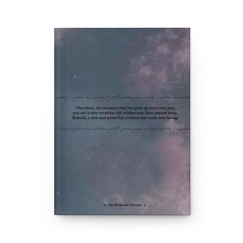 The Enchanted Poetess Hardcover Journal Matte