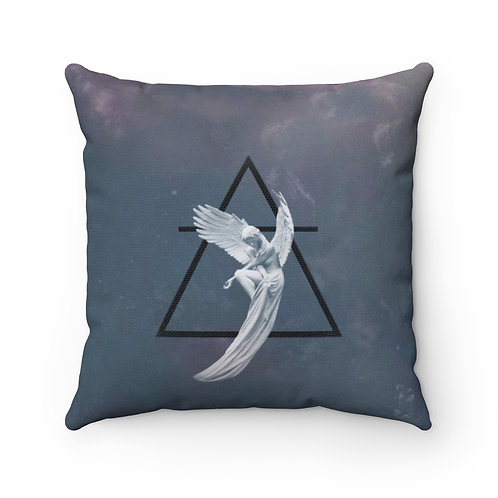 Earth Angels Square Decorative Pillow