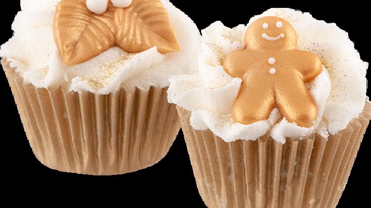Fairy Christmas Mini Cupcake - Autour du Bain