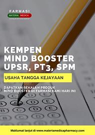 Kempen Mind Booster UPSR, PT3, SPM 2020.