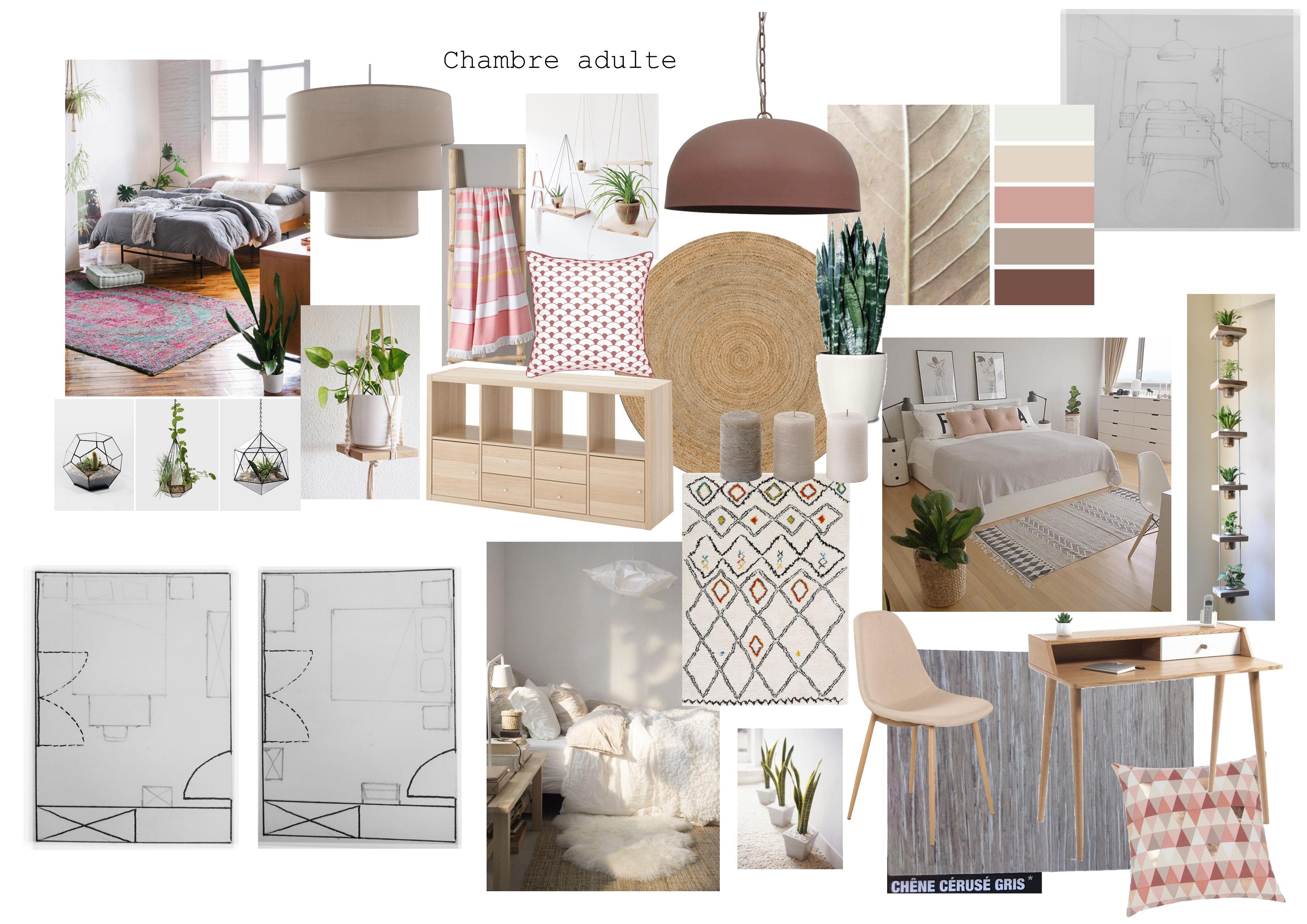 Home Staging Chambre Adulte décoration intérieure | hirond'elles home staging & déco