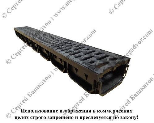 Лоток пластиковый Пешеход (70*125*1000 мм)